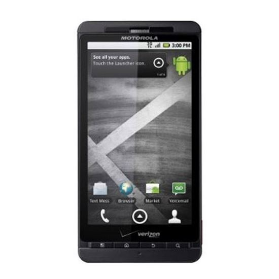 Picture of Motorola Droid X  Cell Phone Screen Repairs