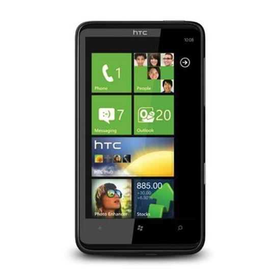 HTC HD7 Cell Phone Screen Repairs