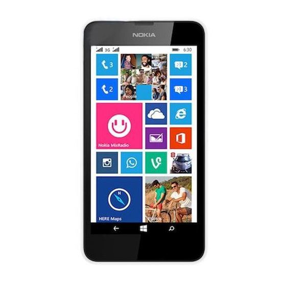 Picture of Nokia Lumia 630 Cell Phone Screen Repair