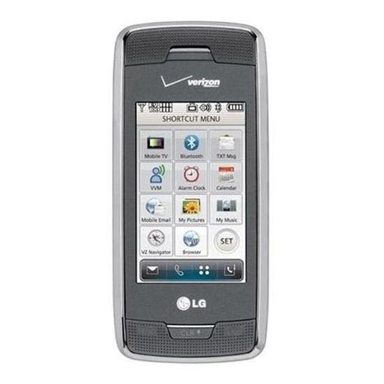 Picture of LG Voyager VX10000  Cell Phone